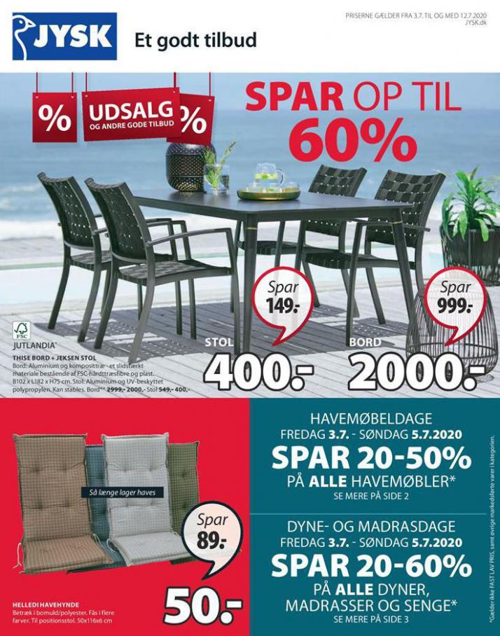 Udsalg . JYSK (2020-07-12-2020-07-12)