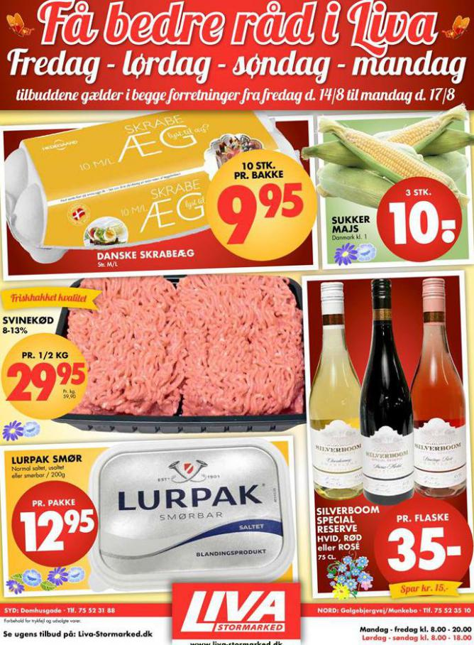 Ugens tilbud! . Liva-Stormarked (2020-08-17-2020-08-17)