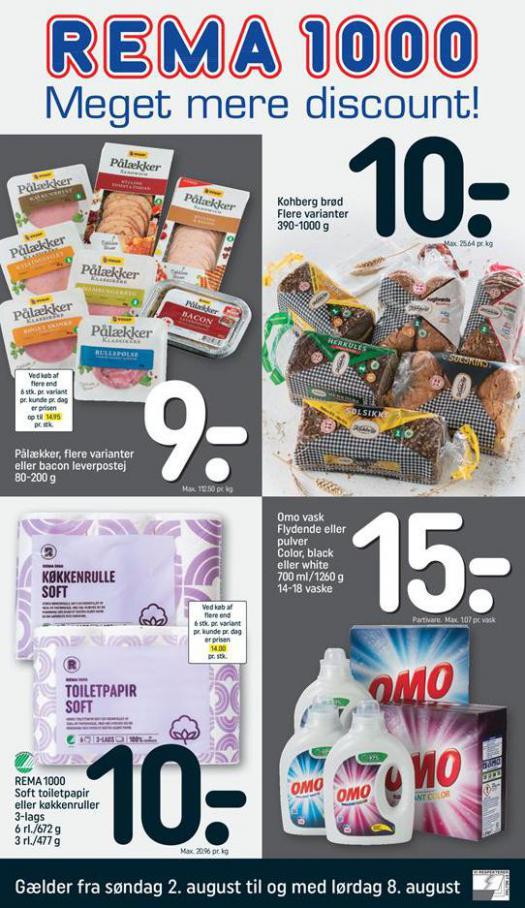 Meger mere Discount! . Rema 1000 (2020-08-08-2020-08-08)