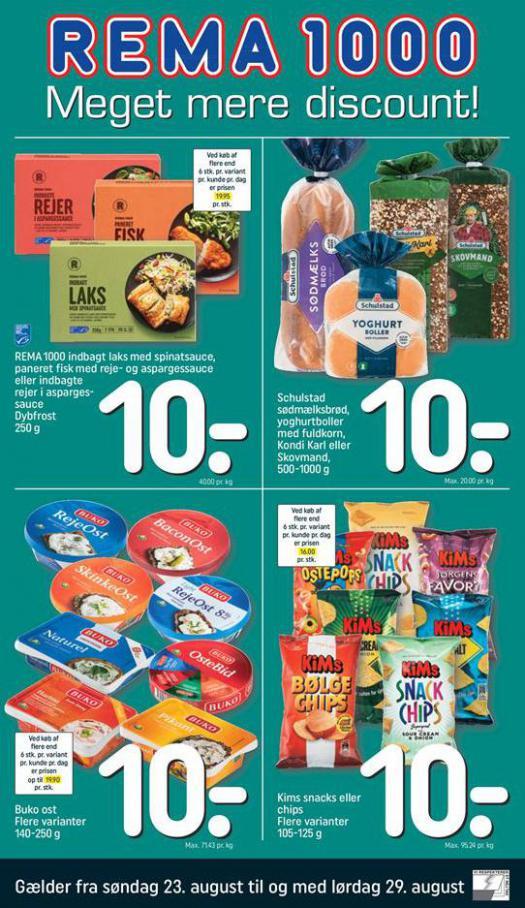 Meger mere Discount! . Rema 1000 (2020-08-29-2020-08-29)