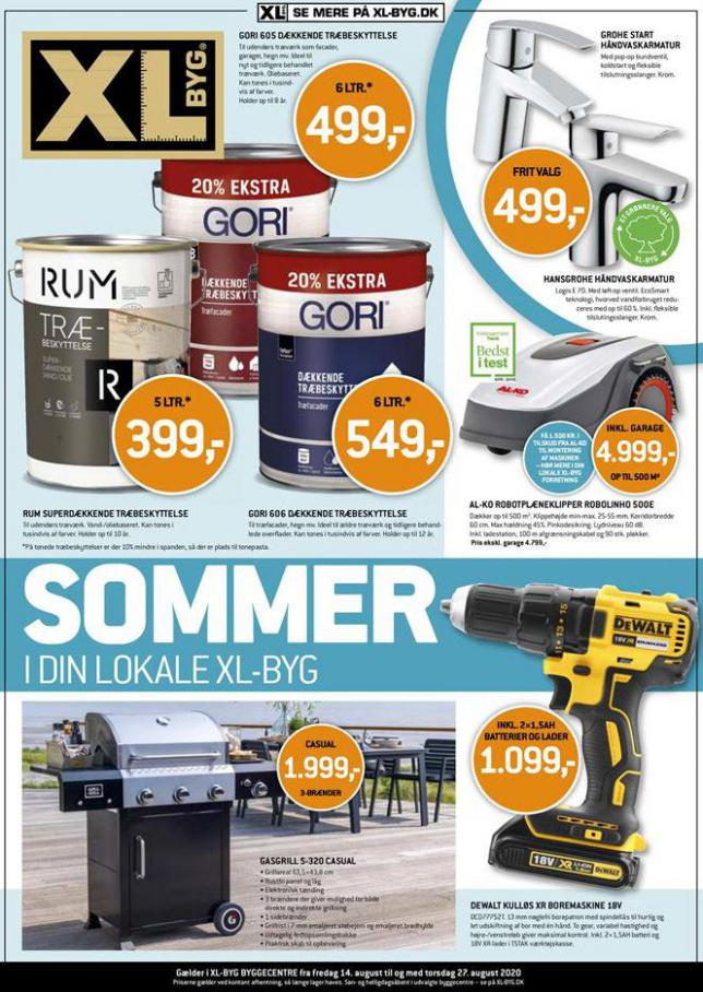Sommer Udsalg . XL-BYG (2020-08-27-2020-08-27)