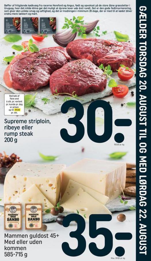Weekend Tilbud . Rema 1000 (2020-08-22-2020-08-22)