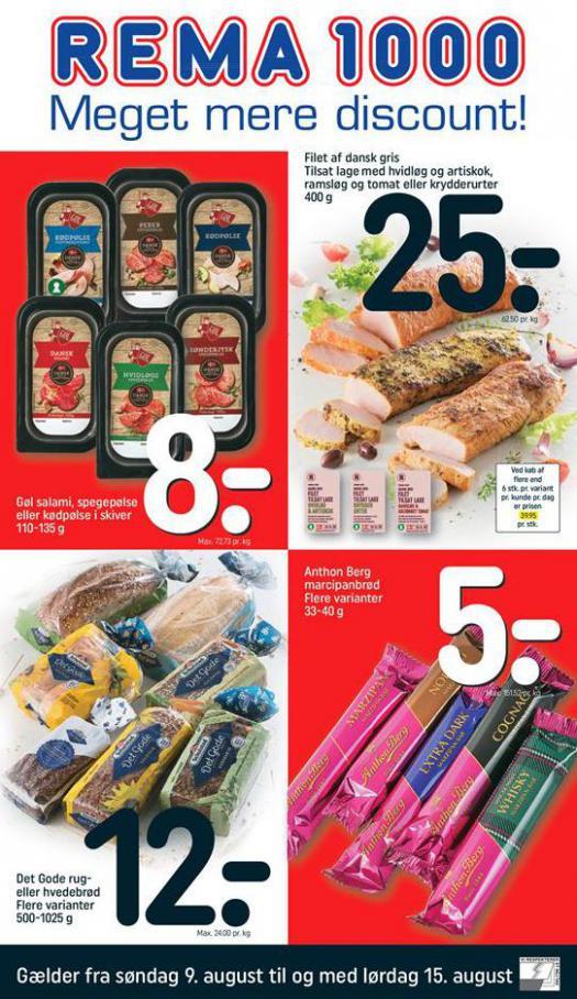 Meger mere Discount! . Rema 1000 (2020-08-15-2020-08-15)