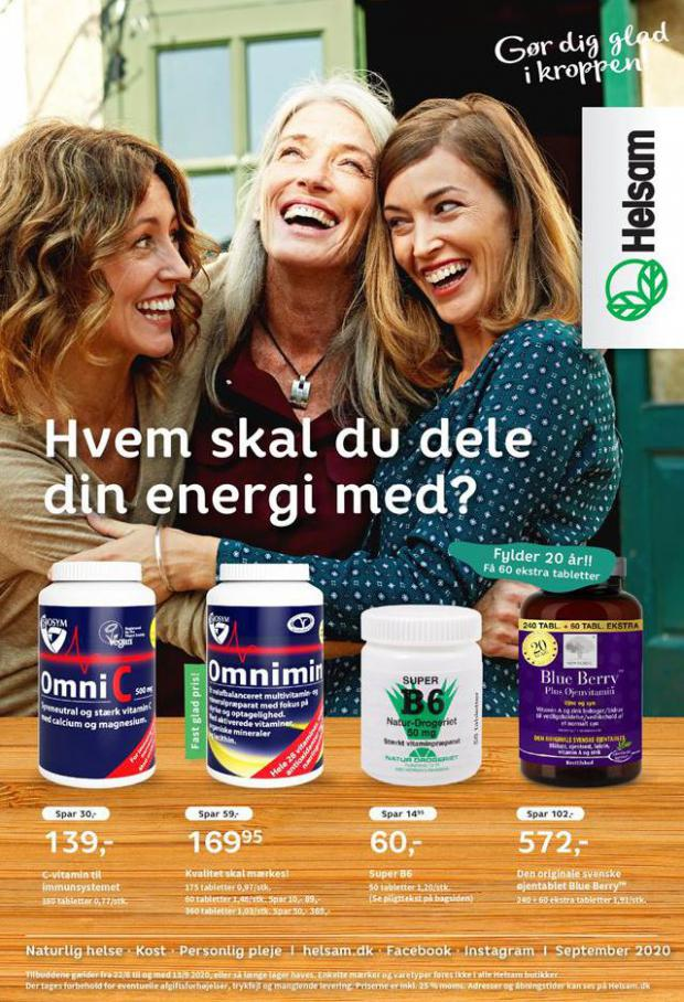 Helsam september magasinet . Helsam (2020-09-13-2020-09-13)