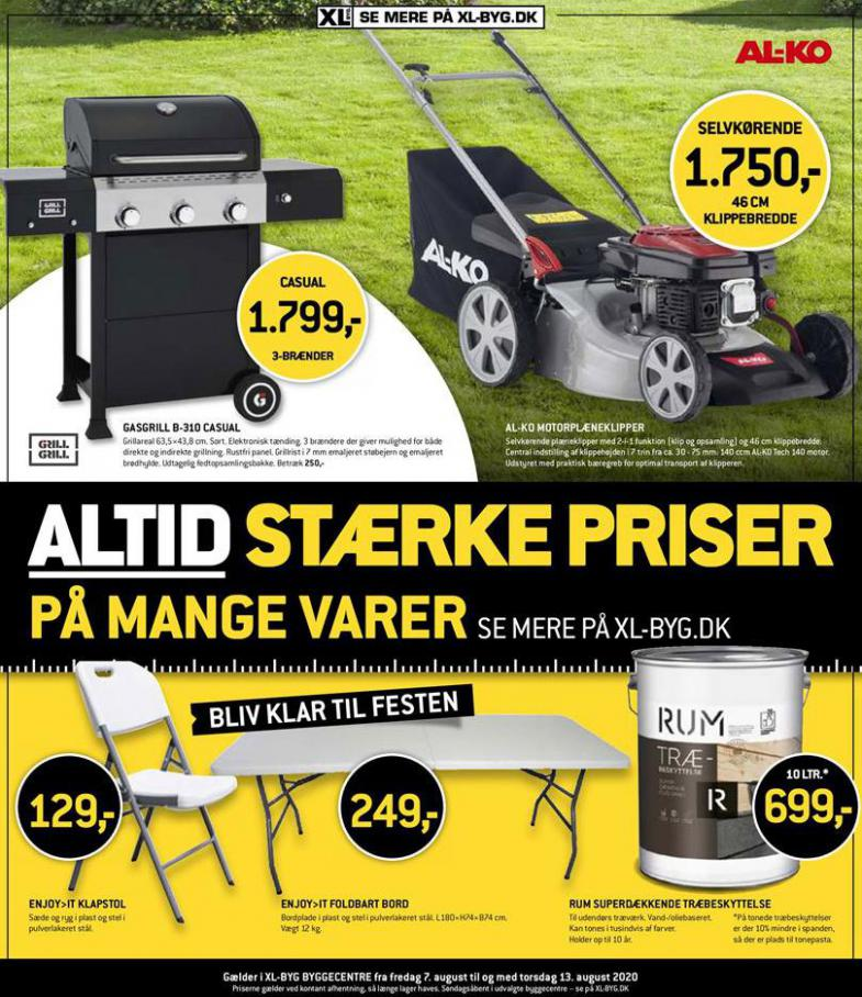 Altid stærke priser . XL-BYG (2020-08-13-2020-08-13)