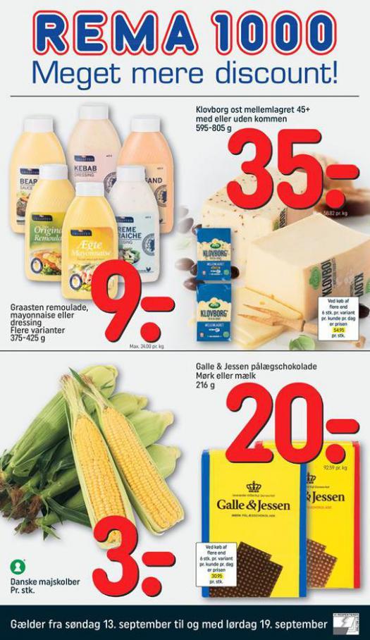Meger mere Discount! . Rema 1000 (2020-09-19-2020-09-19)
