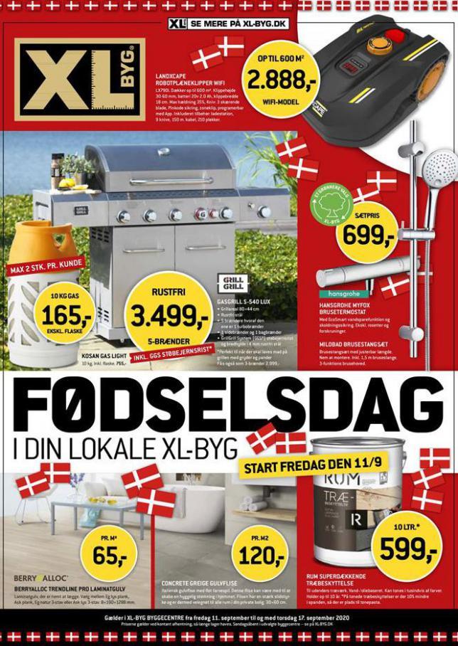 XL-BYG FØDSELSDAG . XL-BYG (2020-09-17-2020-09-17)