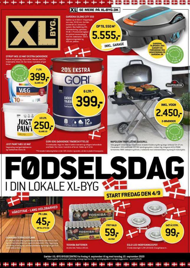 XL-BYG FØDSELSDAG . XL-BYG (2020-09-10-2020-09-10)