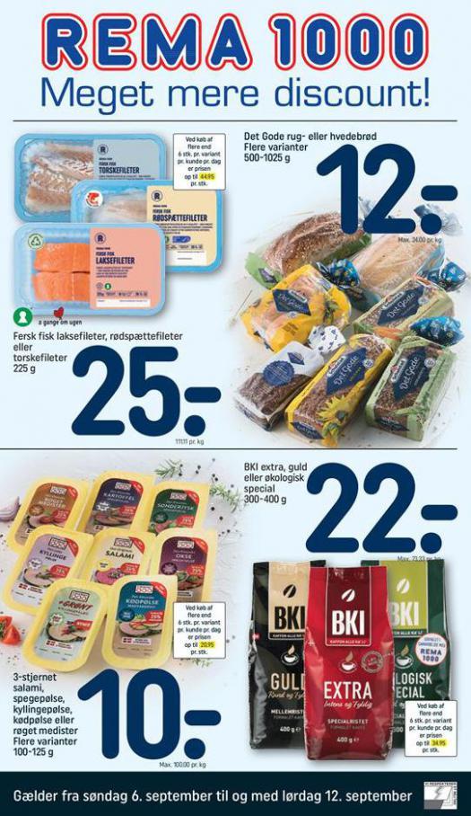 Meger mere Discount! . Rema 1000 (2020-09-12-2020-09-12)