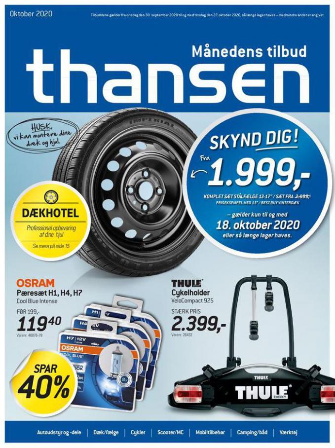 Månedens tilbud . Thansen (2020-10-27-2020-10-27)