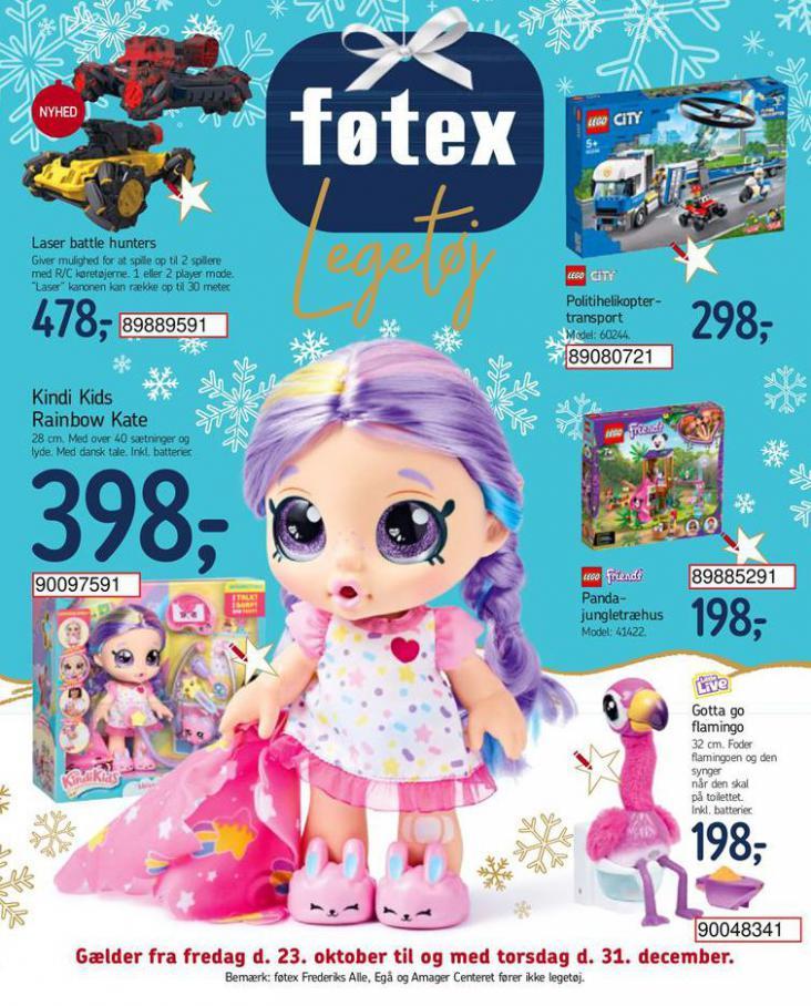 Legetøjskatalog . Føtex (2020-12-31-2020-12-31)