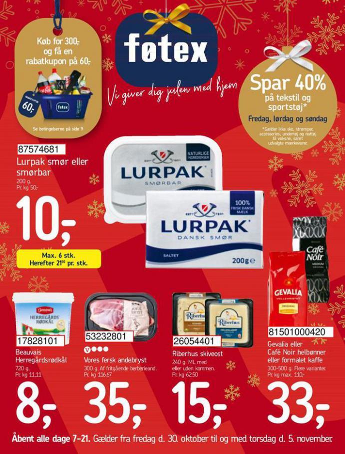 Spar 40% . Føtex (2020-11-05-2020-11-05)
