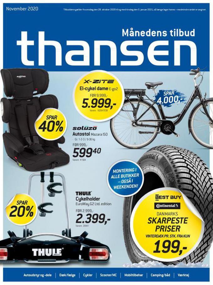 Månedens tilbud . Thansen (2021-01-05-2021-01-05)