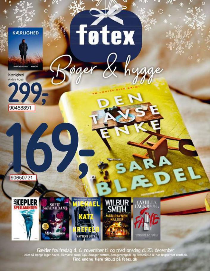 Bøger & hygge . Føtex (2020-12-23-2020-12-23)