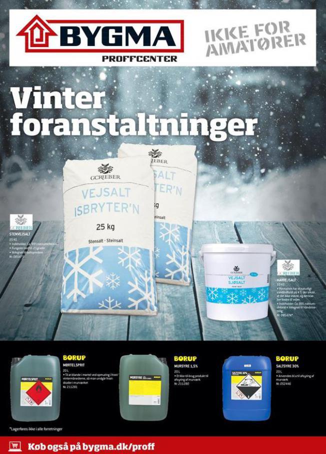 Vinter foranstaltninger . Bygma (2021-02-28-2021-02-28)