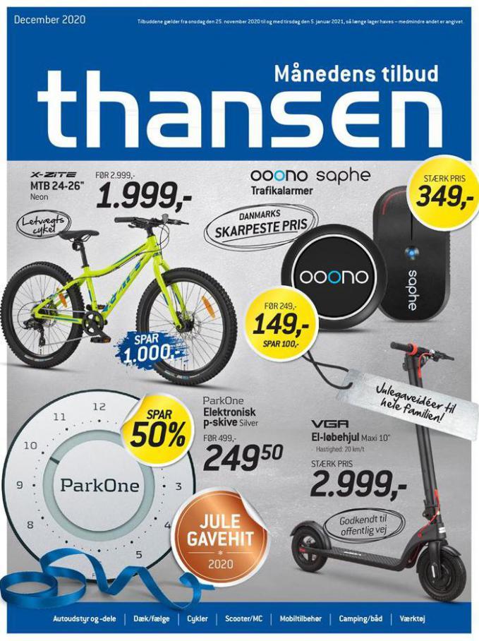 Aktuel tilbudsavis . Thansen (2021-01-05-2021-01-05)