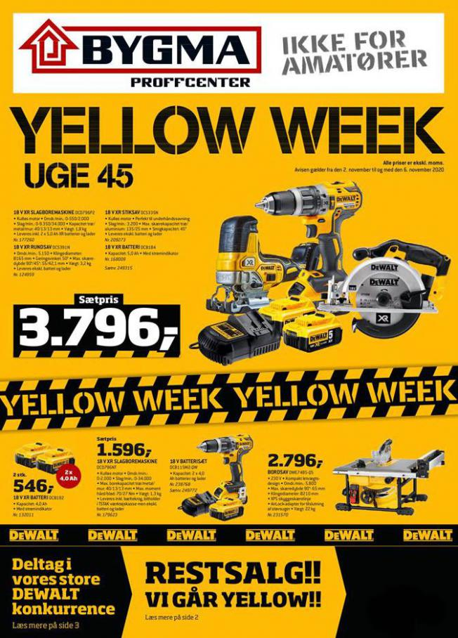 Yellow Week . Bygma (2020-11-06-2020-11-06)