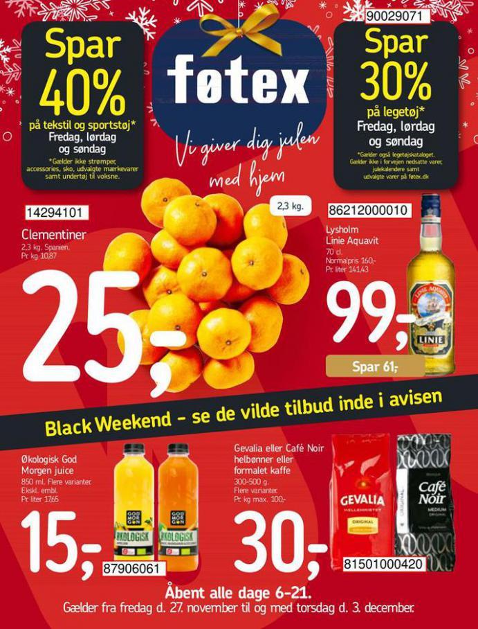 Tilbud Føtex Black Friday . Føtex (2020-12-03-2020-12-03)