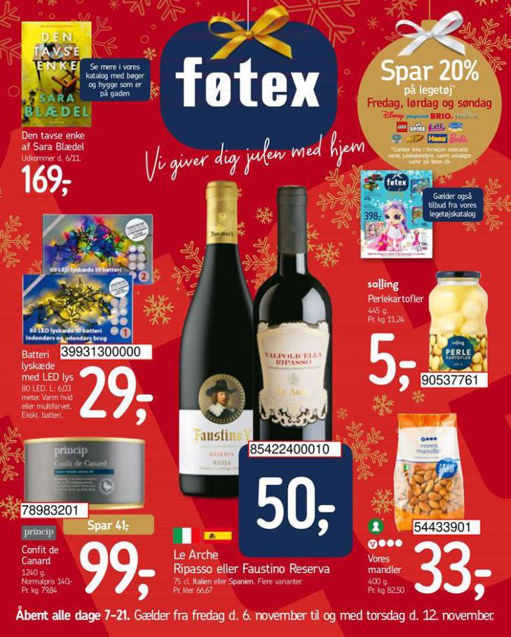 Vi giver dig julen med hjem . Føtex (2020-11-12-2020-11-12)