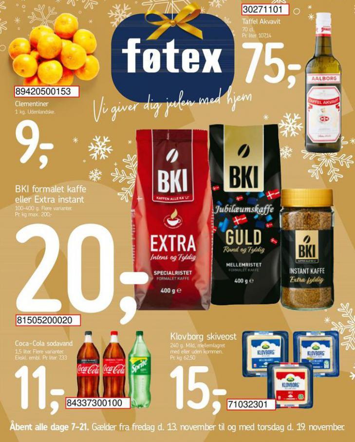 Vi giver dig julen med hjem . Føtex (2020-11-19-2020-11-19)