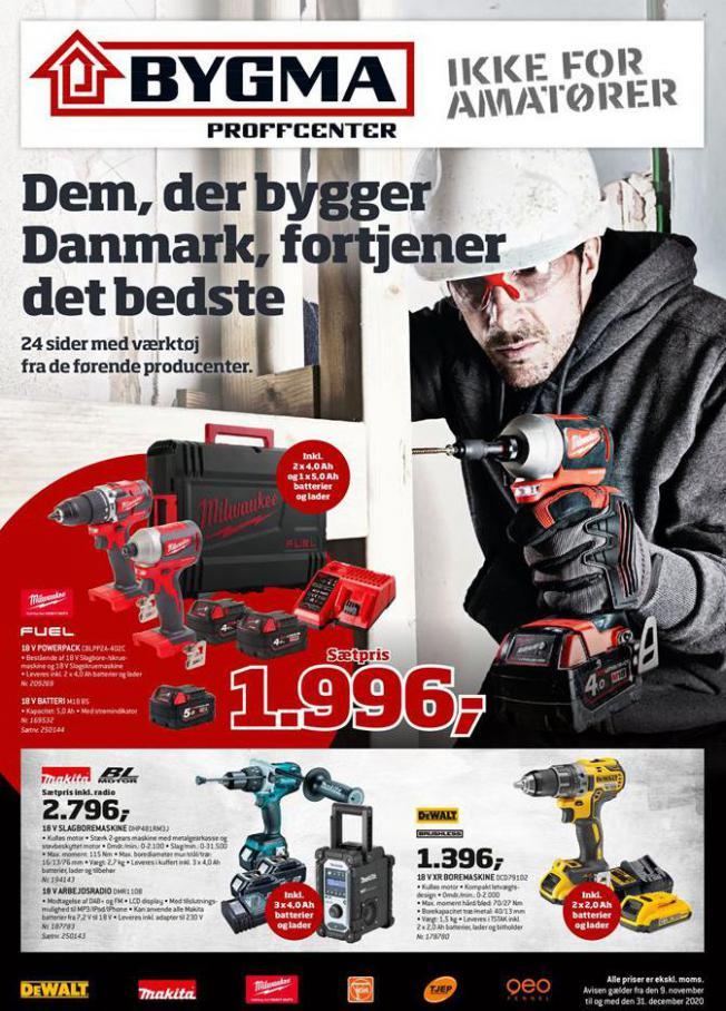 Dem, der bygger Danmark . Bygma (2020-12-31-2020-12-31)
