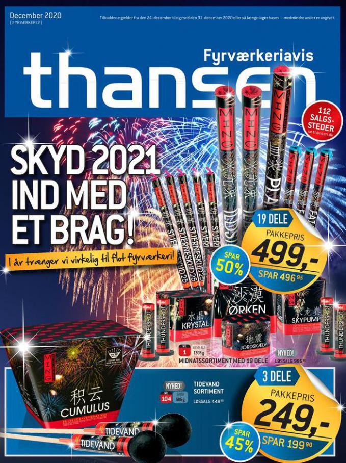 FYRVÆRKERI EFTER JUL 2020 . Thansen (2020-12-31-2020-12-31)