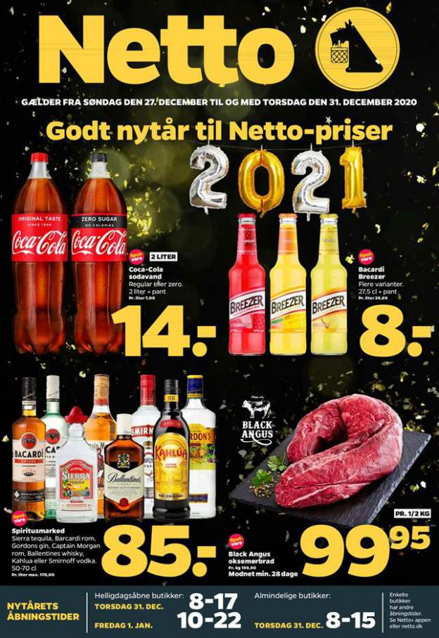 Godt nytar til Netto-priser . Netto (2020-12-31-2020-12-31)