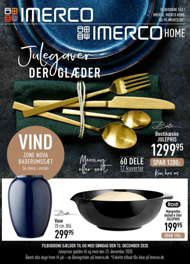 JULEGAVER DER GLÆDER . Imerco (2020-12-13-2020-12-13)