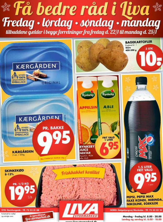 Ugens tilbud! . Liva-Stormarked (2021-01-25-2021-01-25)
