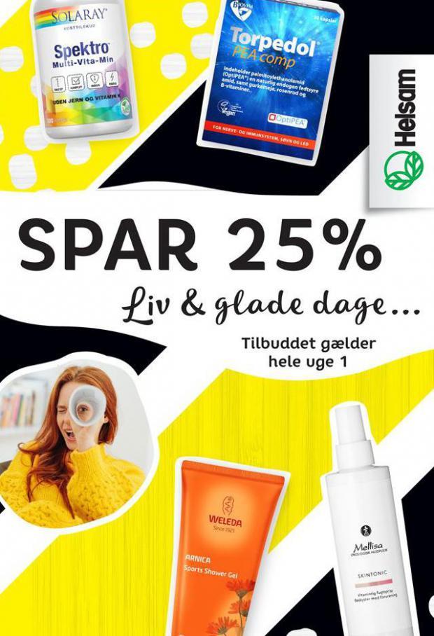 Spar 25% . Helsam (2021-01-10-2021-01-10)