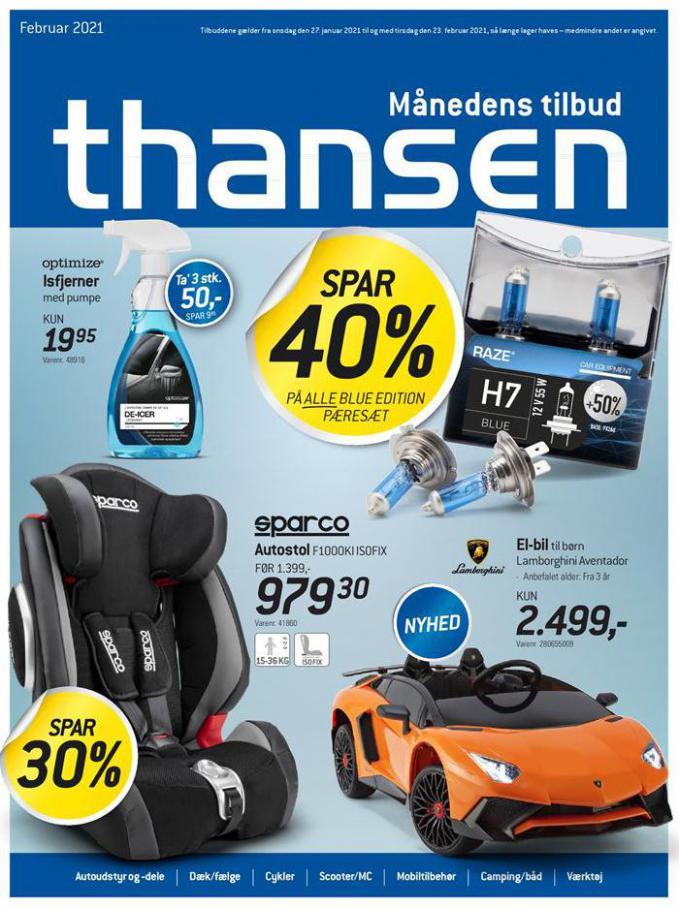 Månedens tilbud . Thansen (2021-02-23-2021-02-23)