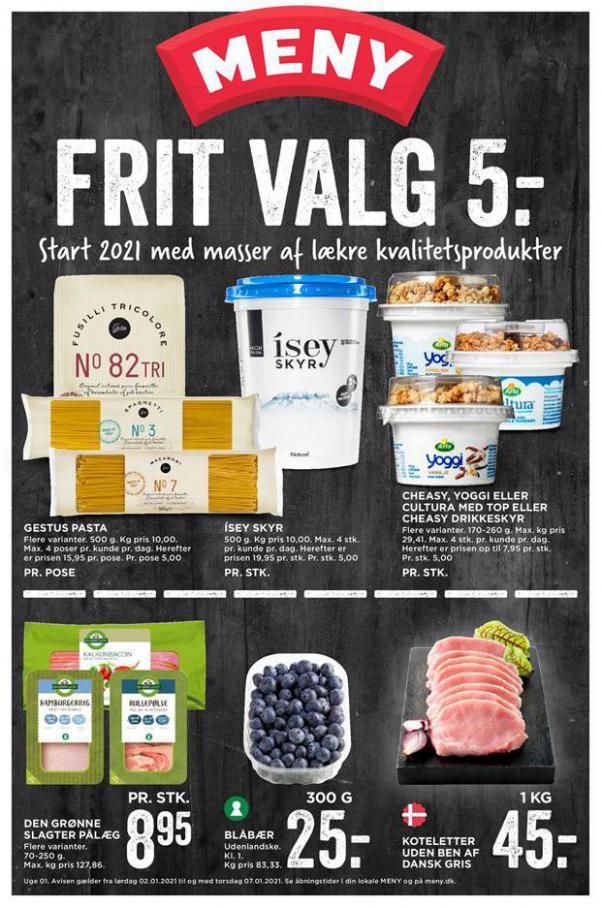 Frit Valg 5- . MENY (2021-01-07-2021-01-07)