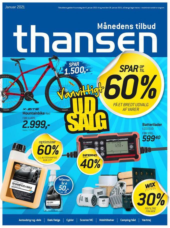 Aktuel tilbudsavis . Thansen (2021-01-26-2021-01-26)