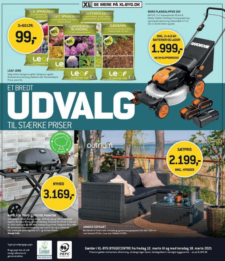 UDVALG til Stærke priser . XL-BYG (2021-03-18-2021-03-18)