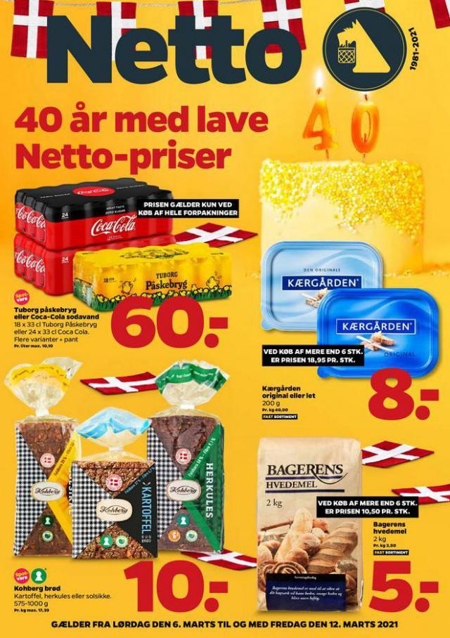 40 år med lave Netto-priser . Netto (2021-03-12-2021-03-12)