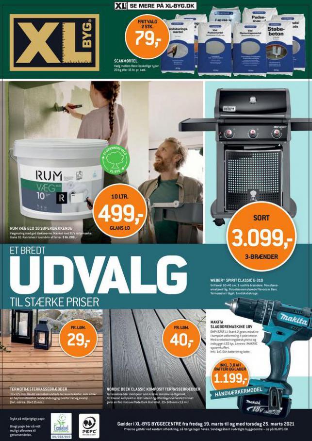 UDVALG TIL STÆRKE PRISER . XL-BYG (2021-03-25-2021-03-25)