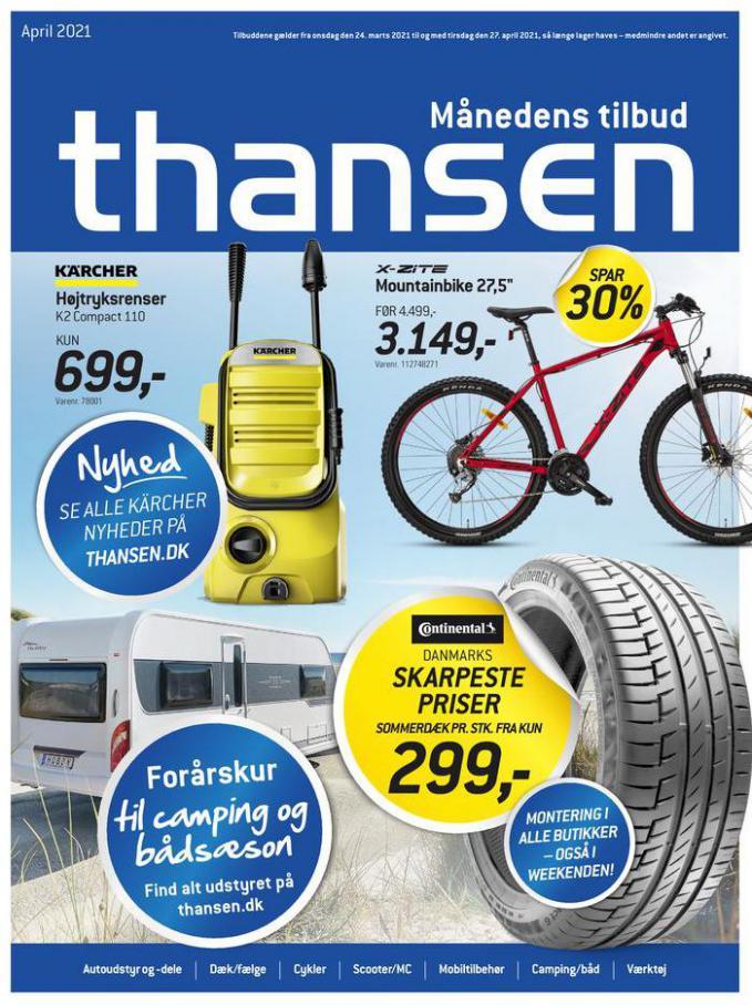 Månedens tilbud . Thansen (2021-04-27-2021-04-27)