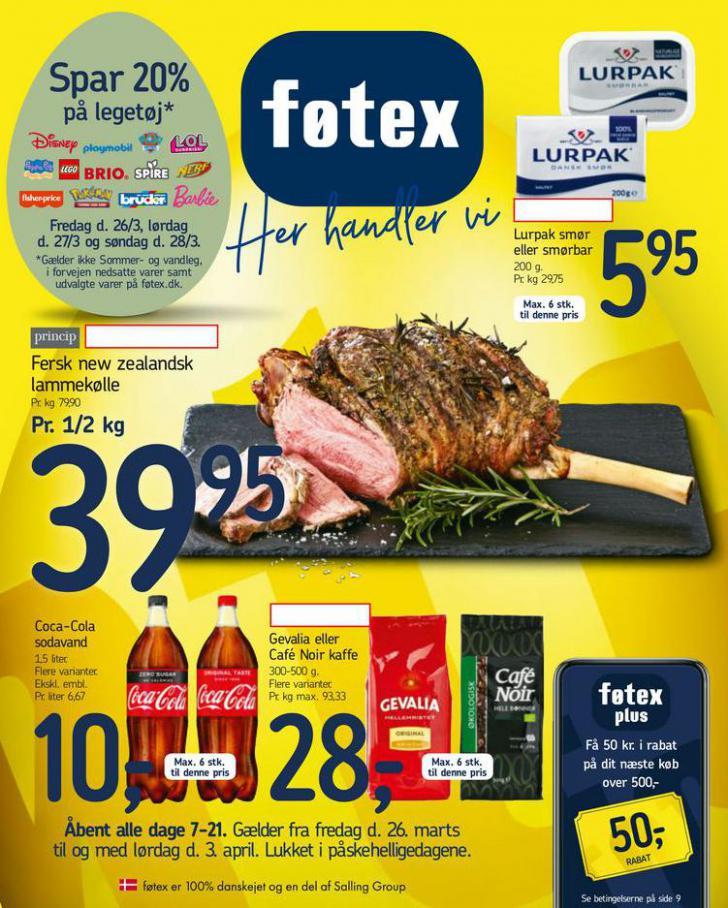 Spar 20% . Føtex (2021-04-03-2021-04-03)