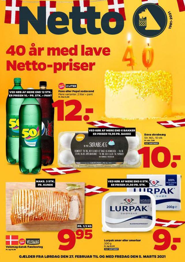 Tilbudsavis! . Netto (2021-03-05-2021-03-05)