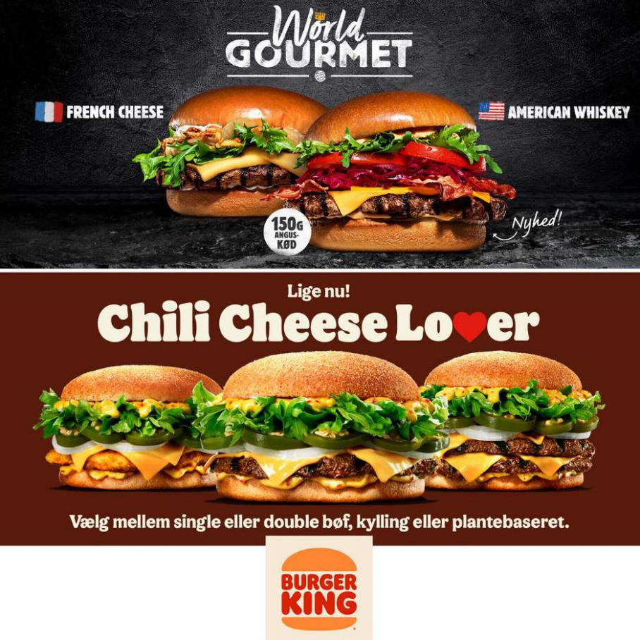 BURGER KING nyheder . Burger King (2021-04-08-2021-04-08)