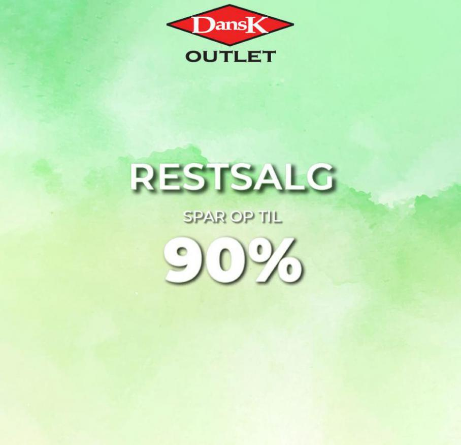 Restalg Spar op til 90% . Dansk Outlet (2021-03-24-2021-03-24)