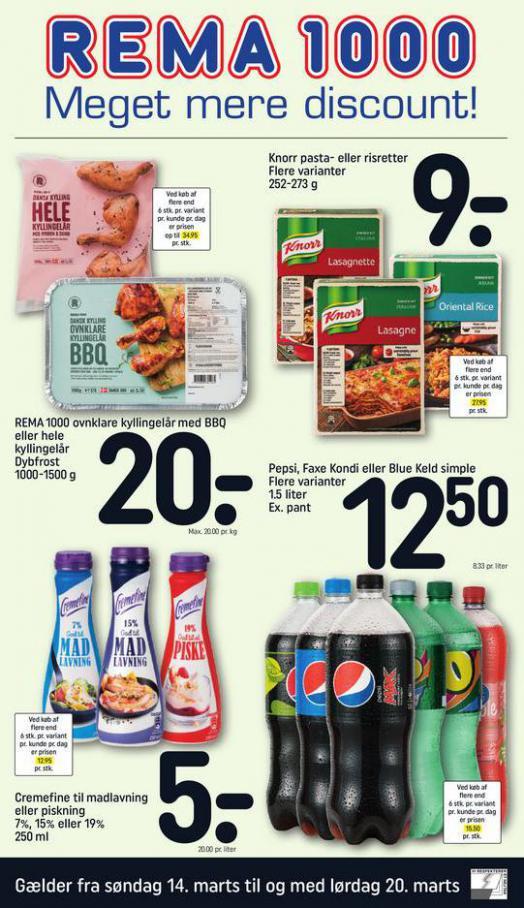 Meget mere discount! . Rema 1000 (2021-03-20-2021-03-20)