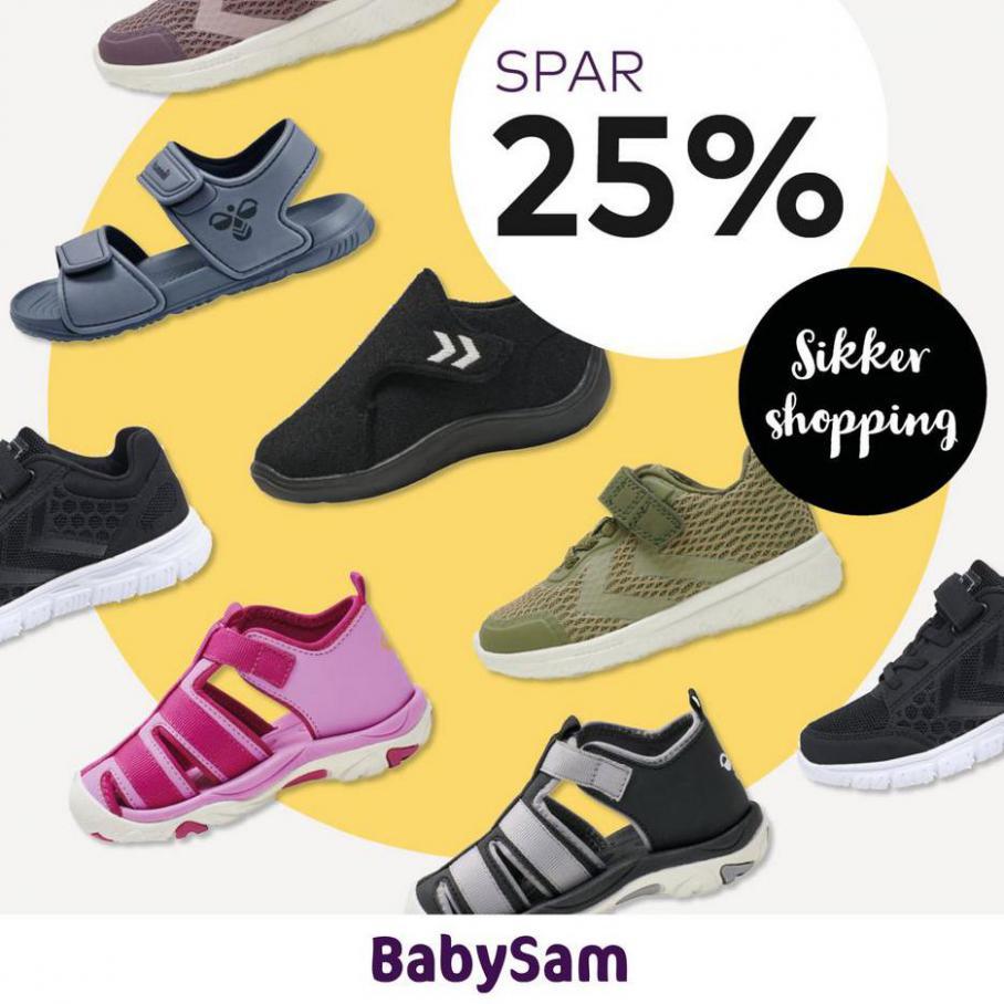 Spar 25% Sikker shopping . Babysam (2021-03-15-2021-03-15)