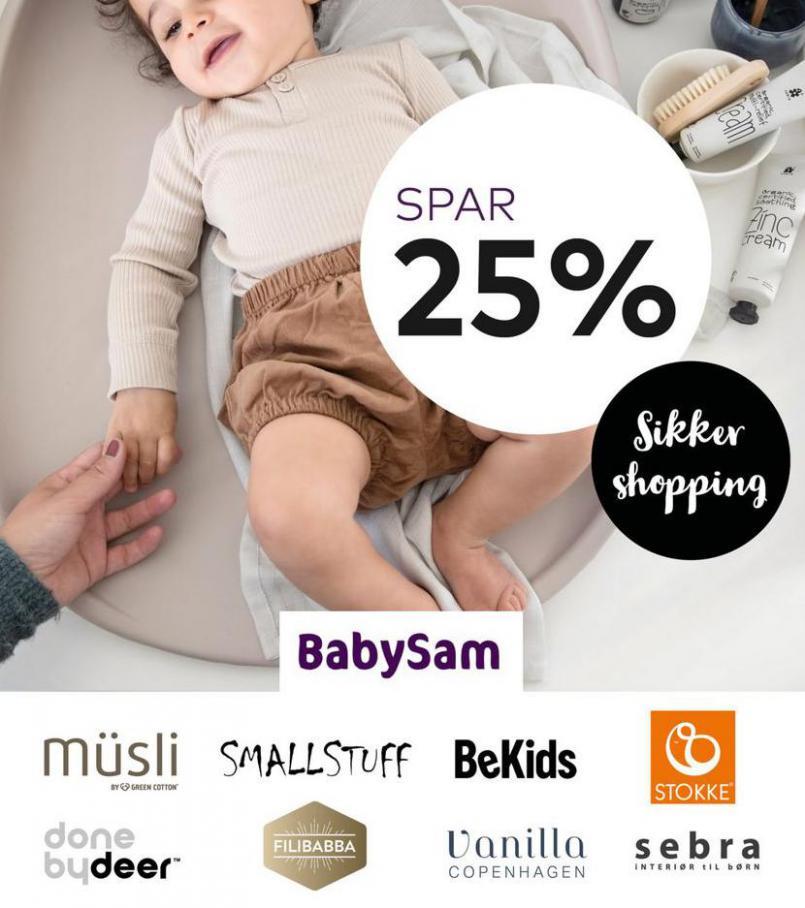 Spar 25% . Babysam (2021-03-29-2021-03-29)
