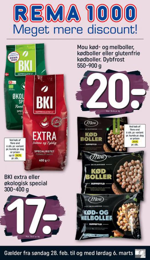 Meget mere discount! . Rema 1000 (2021-03-06-2021-03-06)