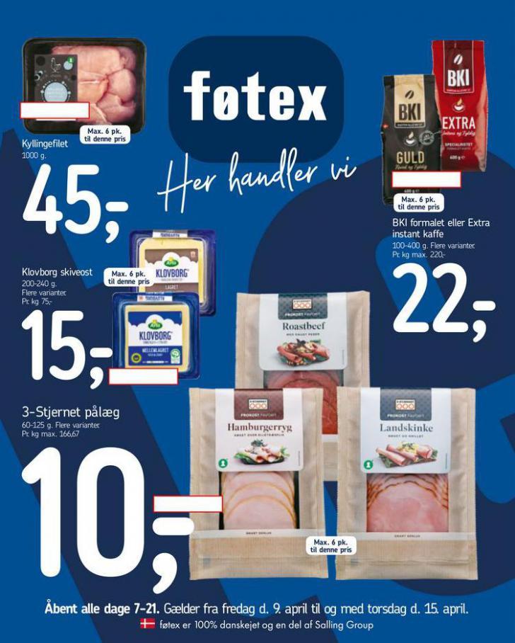 Fotex . Føtex (2021-04-15-2021-04-15)
