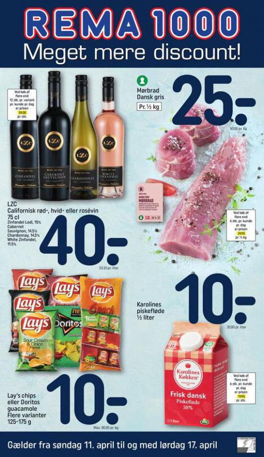 Meget mere discount! . Rema 1000 (2021-04-17-2021-04-17)