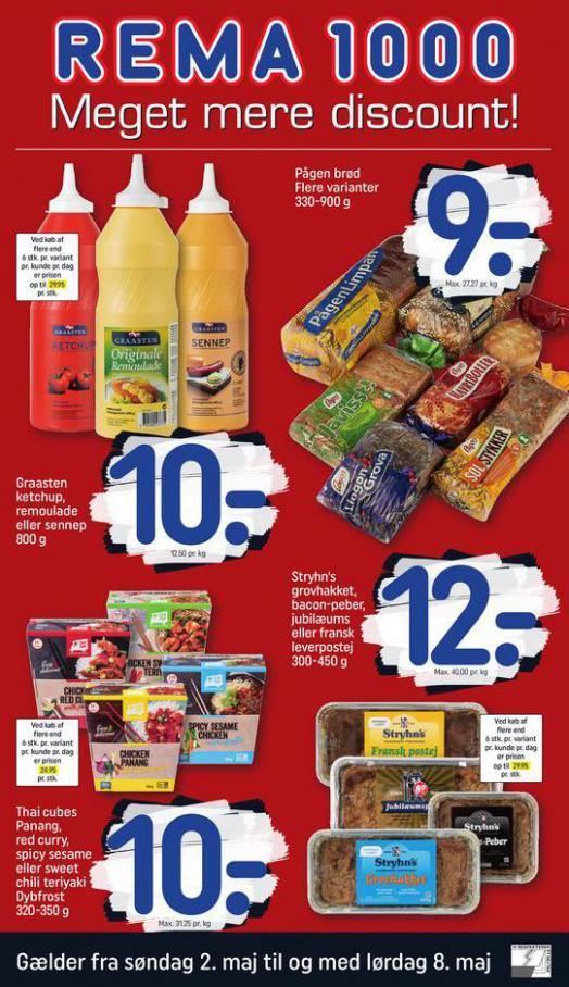 Meget mere discount! . Rema 1000 (2021-05-08-2021-05-08)