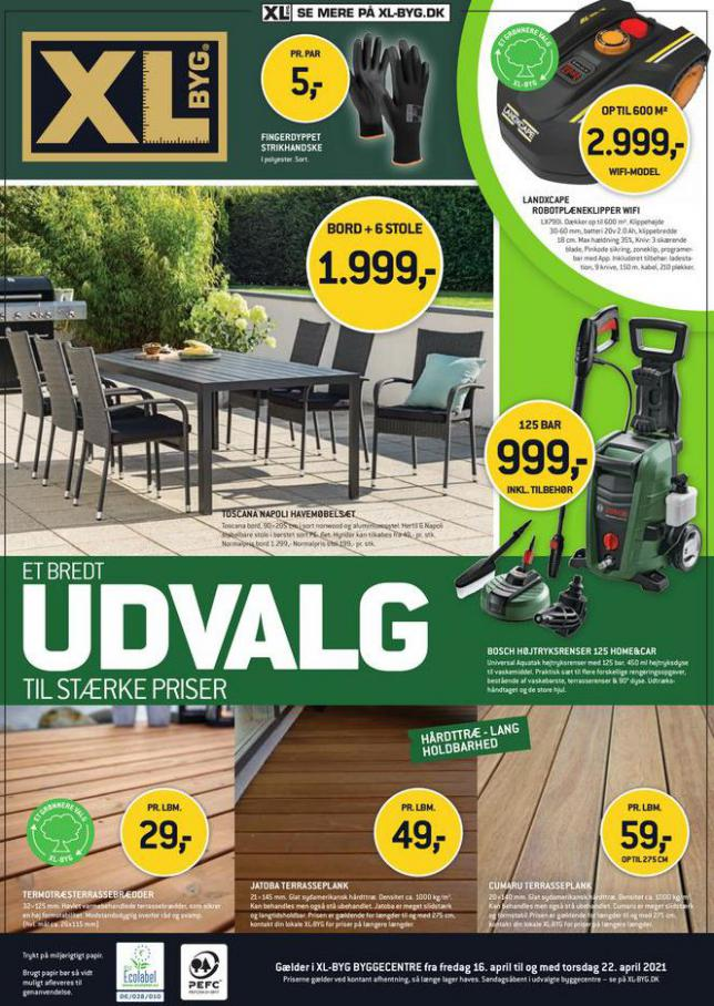 UDVALG TIL STÆRKE PRISER . XL-BYG (2021-04-22-2021-04-22)