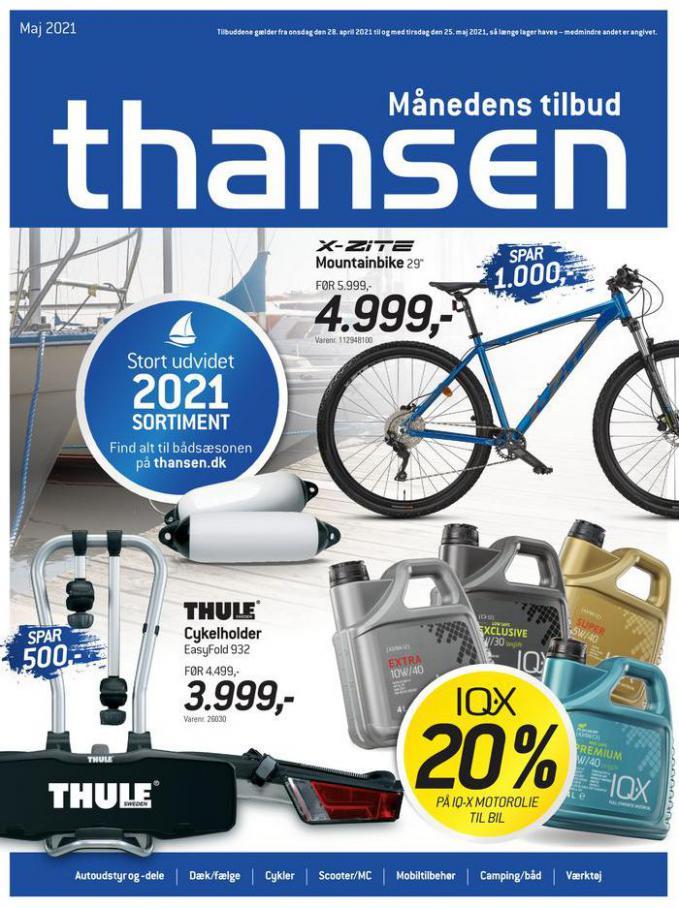 Månedens tilbud . Thansen (2021-05-25-2021-05-25)